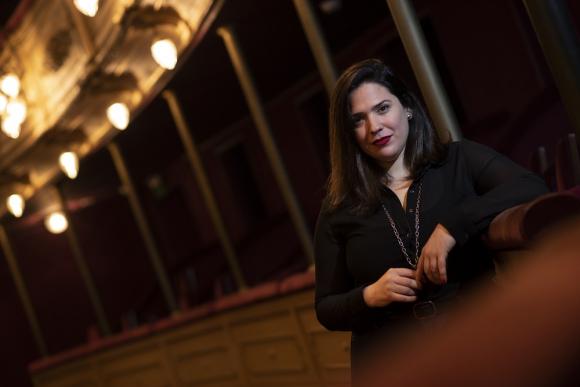 Florencia Caballero Bianchi, actriz, directora y dramaturga