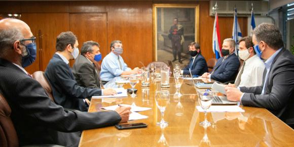 La reunión del Comité de Política Monetaria del Banco Central entre técnicos y directorio de la entidad se realizó en la tarde de ayer. Foto: Copom