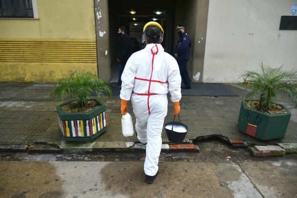 Las autoridades de Salud de Treinta y Tres adoptan medidas para evitar la propagación. Foto: Fernando Ponzetto