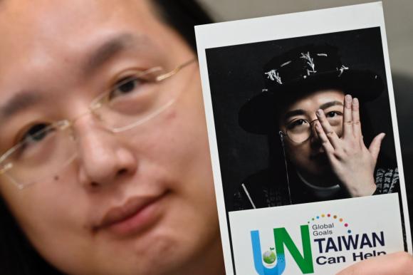 Audrey Tang. Foto: AFP