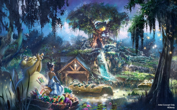 La Splash Mountain repensada para homenajear a la primera princesa negra de Disney: Tiana