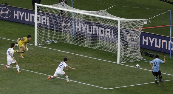 Uruguay vs. Corea del Sur Sudáfrica 2010