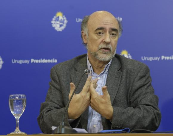 Pablo Mieres este viernes en conferencia de prensa. Foto: Gerardo Pérez