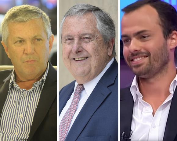 Marcos Guigou, Carlos Lecueder y Agustín Iturralde. Viviendo en el futuro