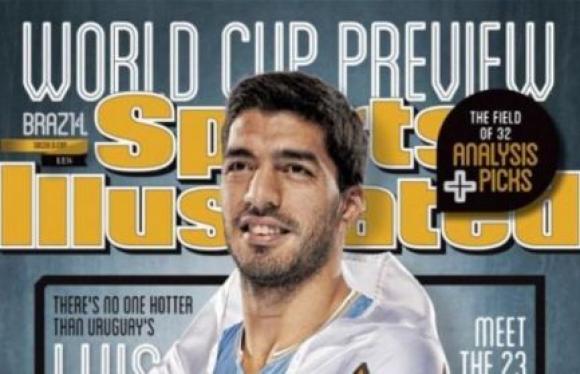 Luis Suárez en Sports Illustrated (Estados Unidos) en 2014