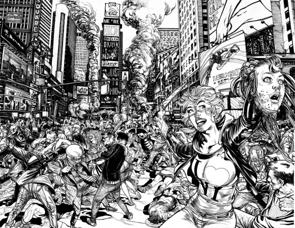 Dibujo Ignacio Calero. Imagen: Facebook Ignacio Calero