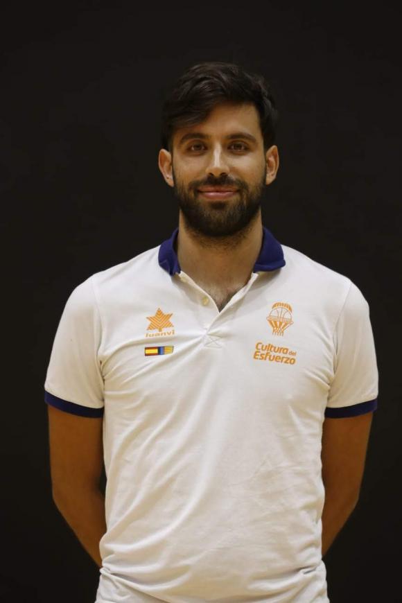 Pablo Cano, el otro uruguayo en la definición de la Liga ACB de España. Foto: Valencia Basket.