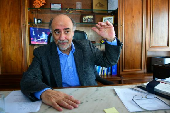 Pablo Mieres, ministro de Trabajo. Foto: Francisco Flores