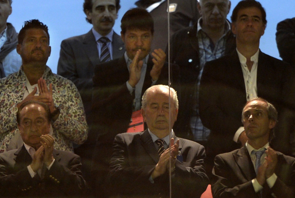 """Escuchas entre Tinelli y Grondona: pedido de árbitros y hasta de """"guita"""". Foto: Archivo El País"""