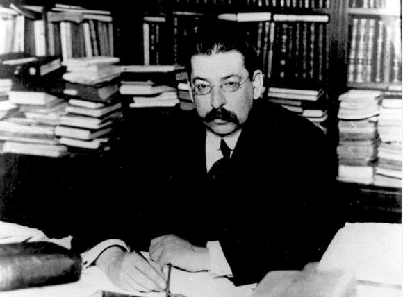 José Enrique Rodó. Foto: Archivo