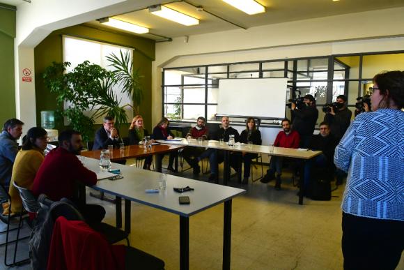 Representantes del Estado se volverán a reunir para coordinar acciones concretas. Foto: Francisco Flores