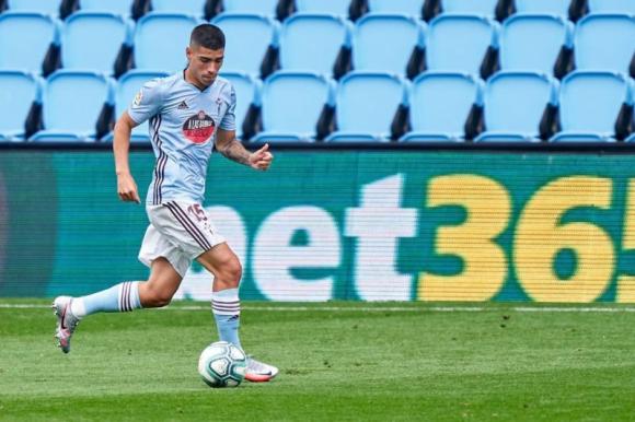 Lucas Olaza podría jugar este martes su último partido con el Celta