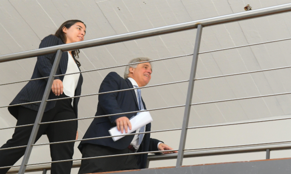 El embajador Francisco Bustillo prepara su regreso a Uruguay para asumir como canciller tras la salida de Ernesto Talvi. Foto: Leonardo Mainé