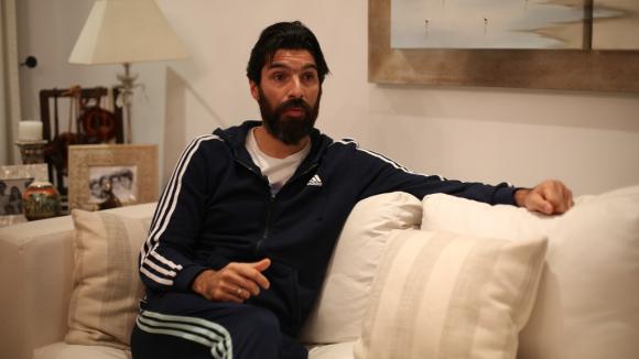 Sebastián Abreu. Foto: Mateo Vázquez.