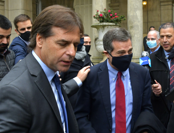 El colorado Ernesto Talvi renunció ayer a su cargo como ministro a horas de la cumbre del Mercosur. Foto: Leonardo Mainé