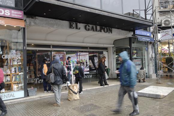 Teatro El Galpón. Foto: archivo El País.