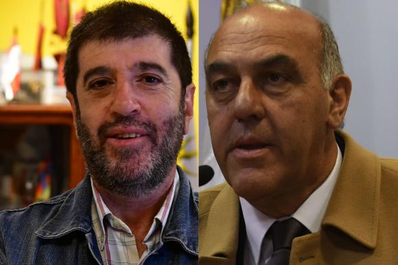 Fernando Pereira y Gabriel Murara. Fotos: archivo El País.
