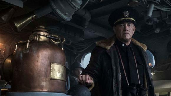 """Tom Hanks en """"Greyhound"""". Foto: Difusión"""
