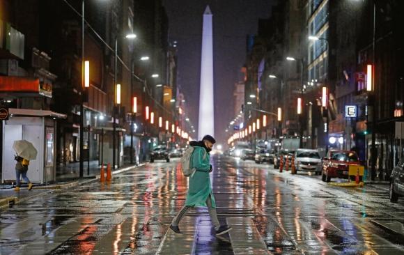 Obelisco, Buenos Aires, Argentina, Covid-19