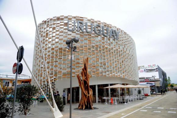 Uruguay XXI en la feria Expo Milán 2015. Foto: EFE.