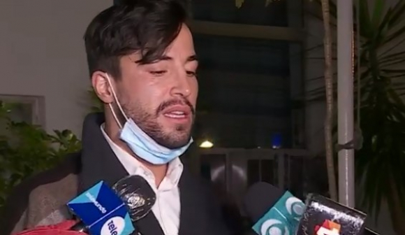 Fernando Cristino este lunes. Foto: Telemundo