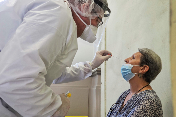 Coronavirus. Foto: AFP.