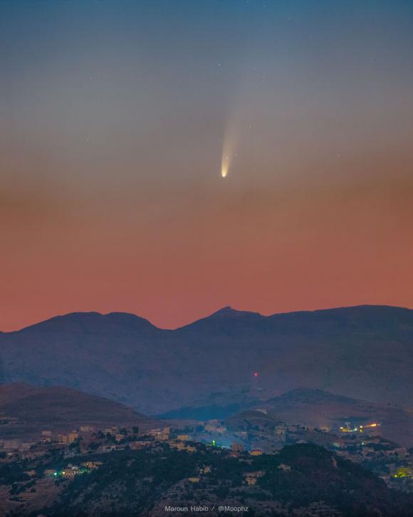 5f061681d3117 - Cometa NEOWISE: una chance única en 6.800 años para observar desde Uruguay