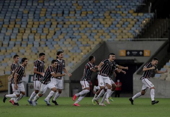 Fluminense campeón de la Taça Río tras vencer a Flamengo. Foto: EFE.