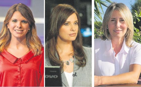 Valeria Alonso, Elsa Levrero y Claudia García.