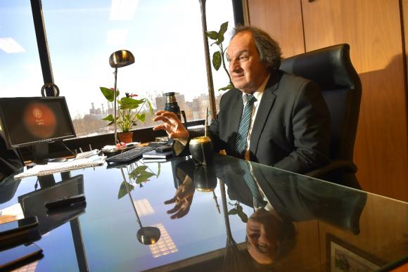Eduardo Lust, diputado por Cabildo Abierto. Foto: Leonardo Mainé