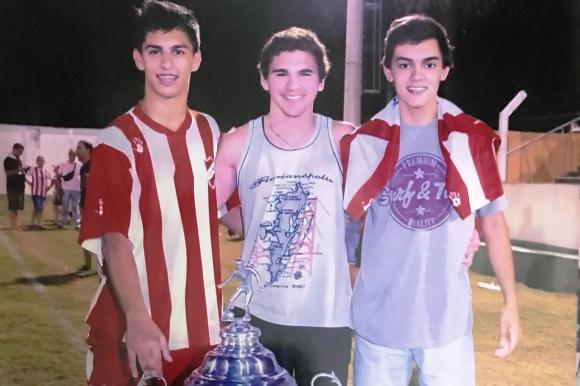 Mathías Laborda es uno de los jugadores formados en Anglo. FOTO: Mathías Laborda.