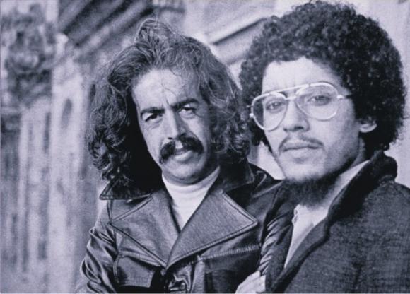 Eduardo Mateo y Jorge Trasante. Foto: Archivo
