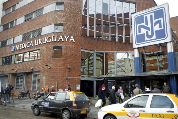 Médica Uruguaya. Foto: EFE