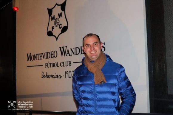 Gabriel Blanco sigue como presidente. FOTO: Wanderers.