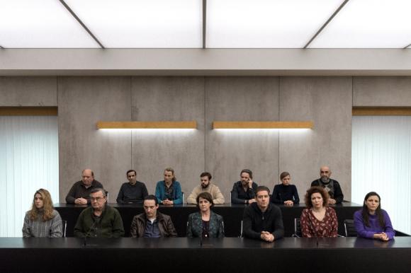 """""""El jurado"""", el nuevo éxito de Netflix. Foto: Netflix."""