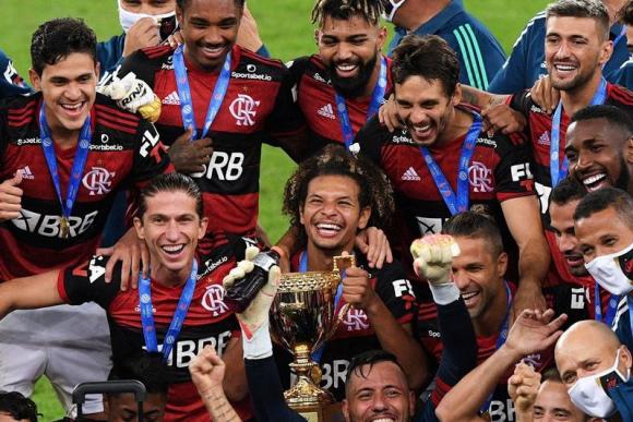 El Flamengo de Giorgian De Arrascaeta es otra vez campeón