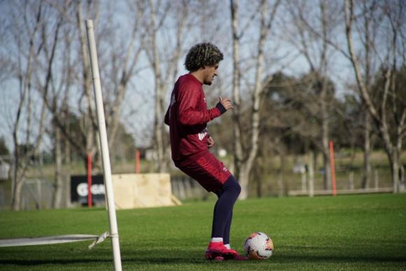 Felipe Gedoz está entrenando muy bien en Nacional
