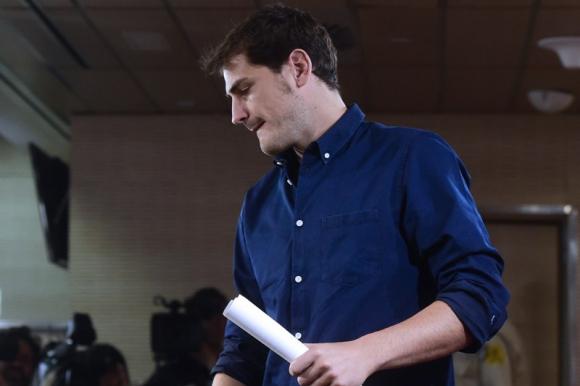 Iker Casillas. Foto: AFP.