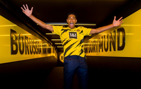 Jude Bellingham fue fichado por el Borussia Dortmund