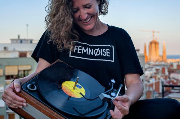 Natalia San Juan, la uruguaya CEO de Femnoise. Foto: Cortesía
