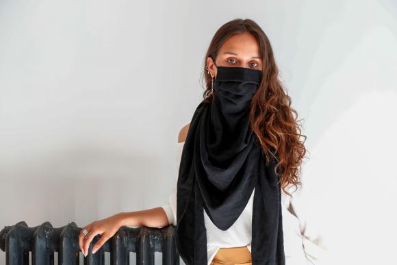 mascarillas de lujo, moda