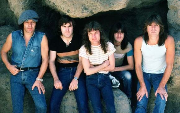 """Se cumplen 40 años del disco """"Back In Black"""", de AC/DC. Foto: Difusión."""