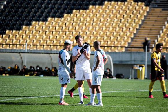 Amistoso entre Peñarol y Danubio en el Campeón del Siglo. Foto: @DanubioFC.
