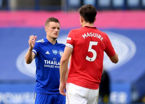 Jamie Vardy, el máximo goleador de la Premier League 2019/20. Foto: Reuters.