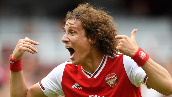 David Luiz y su terrible campaña con el Arsenal