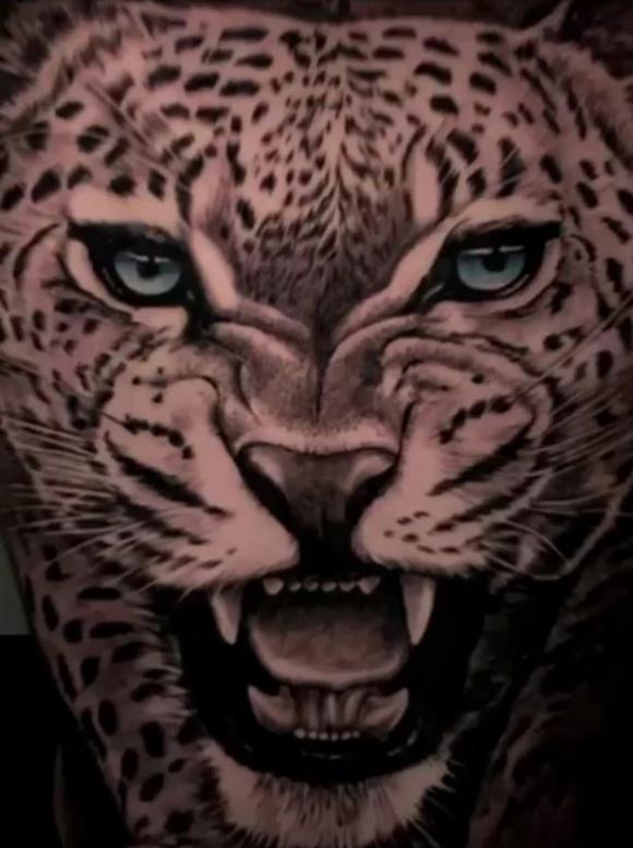 El leopardo en la espalda de Politano