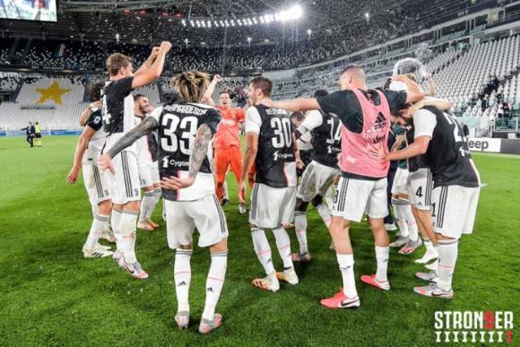 Juventus celebra 9 años de supremacía deportiva