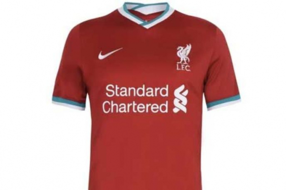 Se filtró la nueva camiseta del Liverpool
