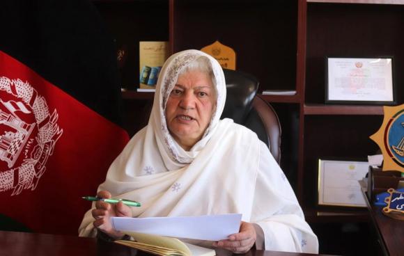 Zohra Ahmadzai. Foto: EFE