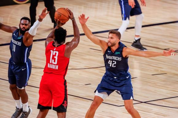 James Harden fue la figura de Houston Rockets. Foto: EFE.